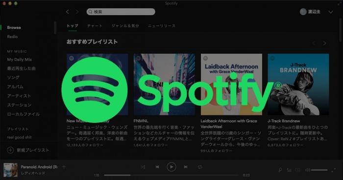 Spotifyがありがたすぎる